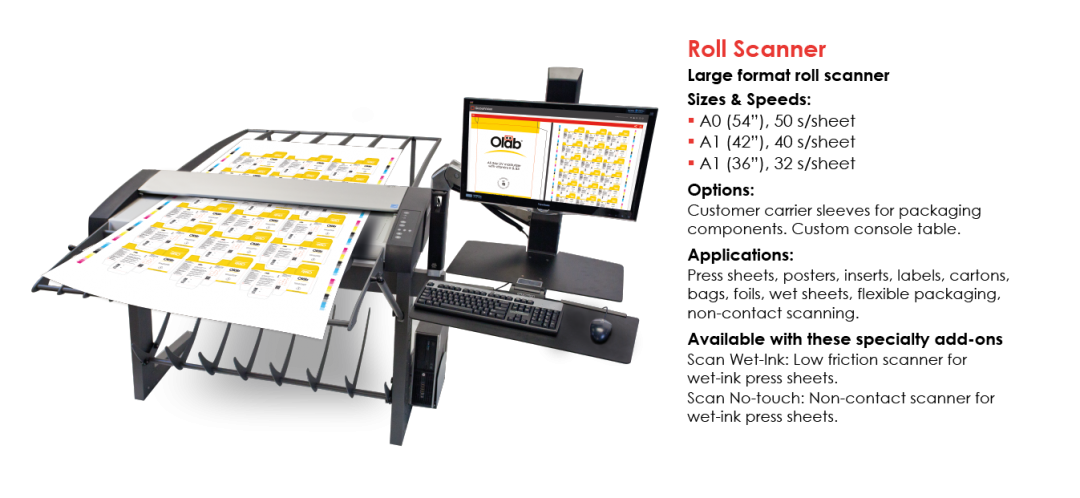 GlobalVision Roll Scanner